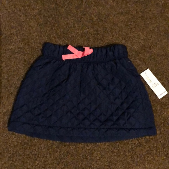 Old Navy Other - Old Navy Navy Puffer Skirt 12-18months